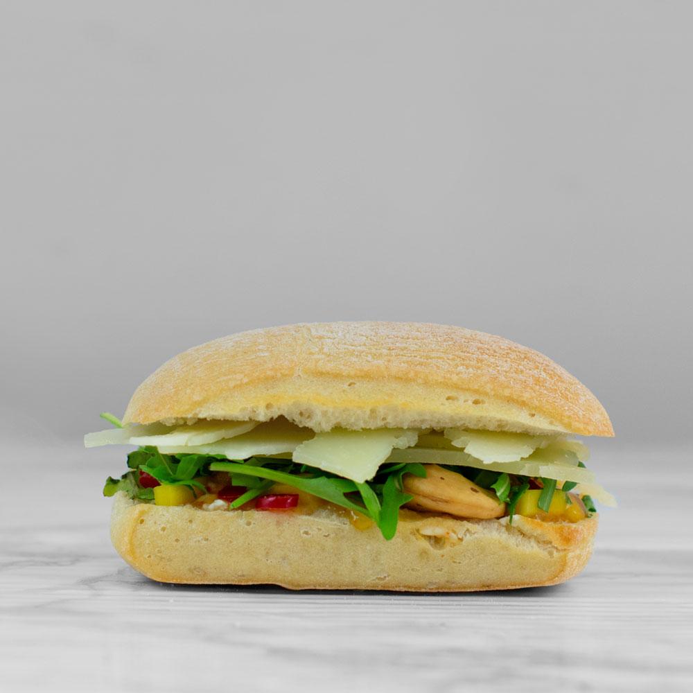 Belegd broodje vegetarisch