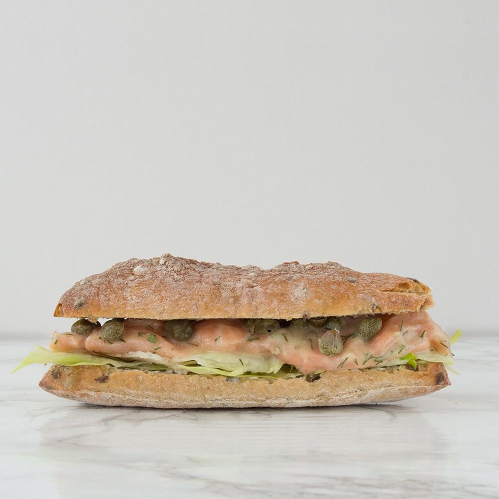 belegd broodje zalmcarpaccio bestellen in utrecht