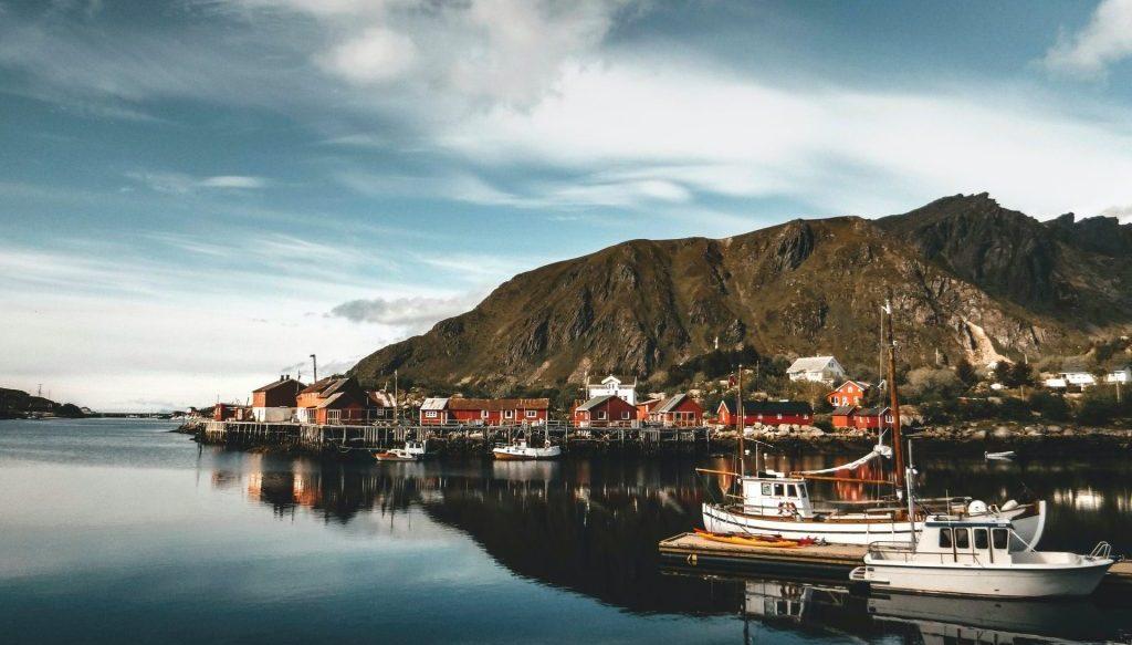 gerookte zalm noorwegen